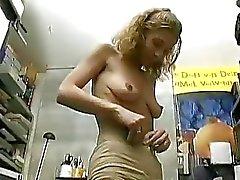 Senhora amador alemão pagou para fazer um pornô cena Produção Sascha
