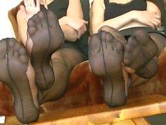 Four feet..