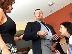 Ehemann und Ehefrau Disziplin Babysitter