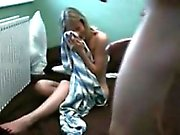 Hot Blonde Lady Makes A Sextape Together With Her Fuckbuddy