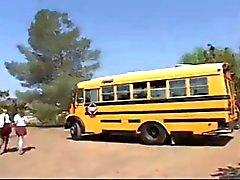 Écolière d'autobus Fuck!