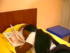 French black girl sodomised by tutor