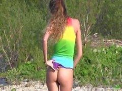 Katya Clover - on the River Gökkuşağı Etleme