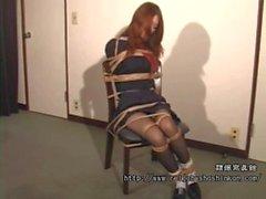 Japanese Schoolgirl Chairbound