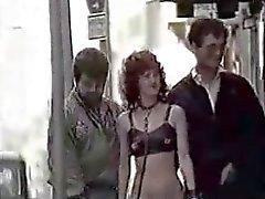 Amateur Rara schiava Germania classica in pubblico ( Camaster )