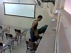 пойман блядь в классной комнате