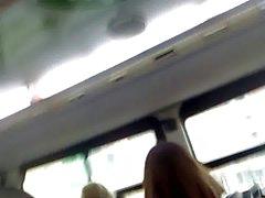 Spion nylon för ben buss två