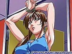 Becerdin büyük göğüsleri ile bağlı anime