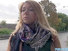 PublicAgent - Ani fucks outdoors and in car