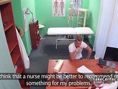 Milf hemşire hastanede görevde sikikleri