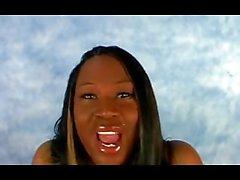 Amateur Ebony Slut Gets Her Huge Rack Of Tits Fucked!