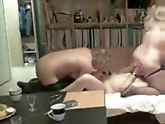 BBW and husband fun with a woman