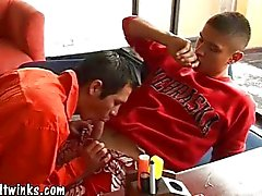 Medical sex games of two gay twinks