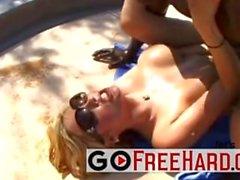 Hot Katie Kox scene at the pool