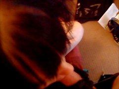 Горячие Оральный эмо панка в корсет