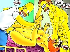 Simpson Anime Orge
