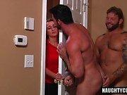 Big Dick sexo oral gay com Ejaculação
