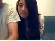 Kiinan Pari Mess Around On Webcam