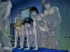 Japanska orgie tecknad