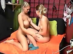Hot Teen Lesbians Tied Up On Webcam