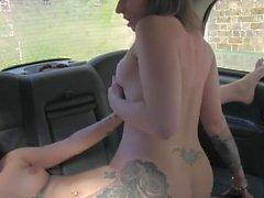Lesbian Taxi Driver 2