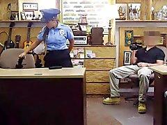 Stora bröst latinsk polisen påsatt av elaka bonde kille