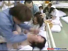 Bir Hastanesi'nde Kahrolası haylaz Hemşireler