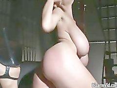 Sexy couro preto quente corpo bebê tem part6