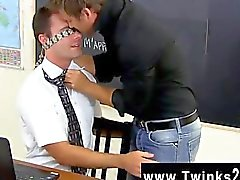 Amazing gay scene After feasting on man