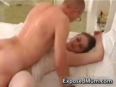 Mother wearing pantyhose penetrated part4