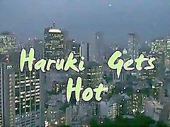 Haruki Gets Hot