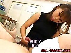 Bunko Kanazawa Naughty Aasian opettaja