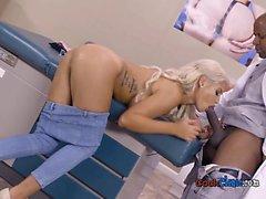 Sexy Patient Bridgette B Blows Big Cock Of Doctor