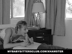 MYBabysittersClub - Hot Babysitter Erpresst und gefickt
