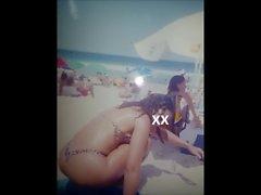 Bundas gostosas na praia