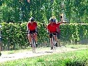 Brune , double pénétration par des 2 cyclistes extérieur