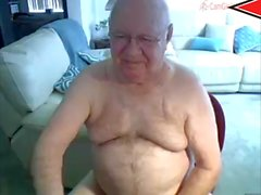 cum nonno in webcam
