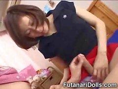 Innocentes de Futanari Les étudiants