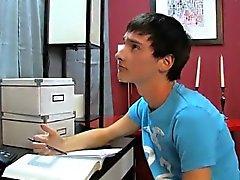 Потрясающая гей Хорошие оценки являются важными для Ной Carlis
