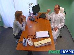 FakeHospital Tesiste Doktor seksi tight pussy Creampies