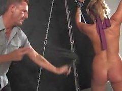 Milf Blonde Slave Slut Gets Punished