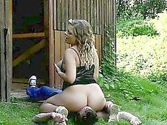 Grassottello soave Lenka si scatena corso rapporti sessuali ruvido Sedersi sulla faccia