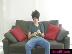 Very cute Homo emo wichsen