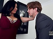 Jaylene Rio menacing-fearsome Un acteur de choix Breasty menaçant-redoutable Banging son grand Marangos lui fait Cum