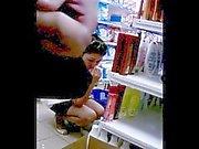 Cumshot near girl 3