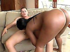 Big Black Butt Dark Girlfriend