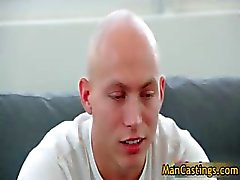Bald guy Mathew gives hot blowjob part4