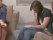 Ikääntyvä lesbo sitominen nuorempia muru