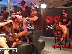 Alemão Sluts melhora - Alemão Goo Girls Live