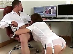 Lady di Sonia dà sega e la blowjob